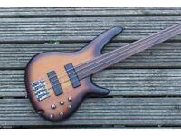 Ibanez SRF700 Portamento Fretless Active Bass Guitar