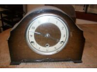 TWO OLD ANTIQUE CLOCKS FOR SPARES OR REPAIR