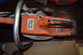 Stihl TS 400 concrete saw.