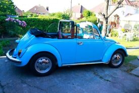 1970 Beautiful Olympic Blue Converted Beetle in Excellent Condition Fully Restored
