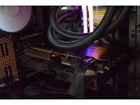 GTX GIGABYTE 980 TI G1 GAMING (take a look custom home made cooling)