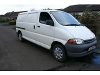 Toyota Hiace PowerVan 2.4D ***Needs attention*** SOLD AS SEEN***