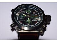 Luxury Men Swimming Digital LED Quartz Outdoor Sport Watch Military LCD Watch