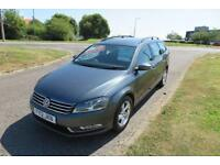 VOLKSWAGEN PASSAT 1.6 S TDI BLUEMOTION,2012 Estate,Alloys,Bluetooth,Air Con,64mpg,£30 Road Tax