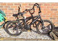 Black Rhino BMX Boys Bike Includes Free Helmet