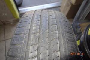 225 55 19 Set of 4 used tires Kumho.