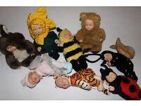 Anne Geddes - Lovely 8 dolls
