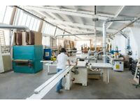 Workshop space to rent - Woodworking bench space and access to fully equipped machine shop