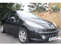 Peugeot 207 1.4 16v Sport (90) AC 3dr Black