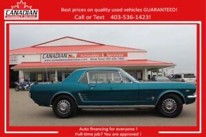 1966 Ford Mustang BEAUTIFUL PRISTINE SHAPE 305/4 SPEED!