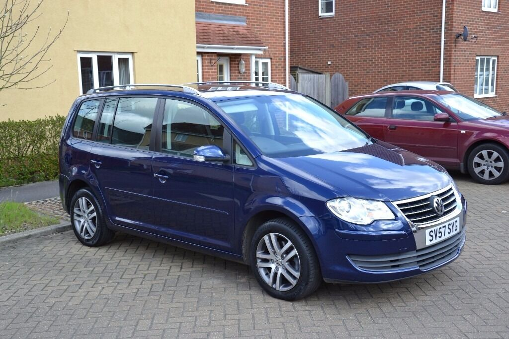vw volkswagen touran se 2 0 tdi 2007 140bhp in norwich. Black Bedroom Furniture Sets. Home Design Ideas