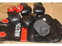 Boxing gloves and bag