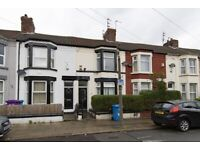 4 Bedroom Terraced rent in September Road, Liverpool, L6