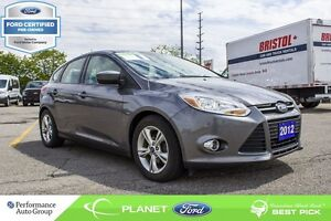 2012 Ford Focus SE FORD CERTIFIED LOW RATES & EXTRA WARRANTY!