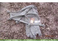 Unwanted Christmas present. Mantaray crochet/pom pom scarf from Debenhams. Cost £22, w