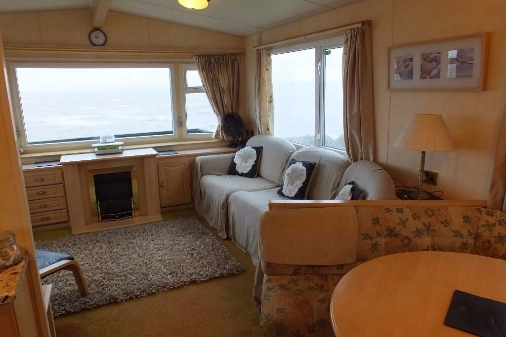 Static caravan located on Auchenlarie 5* Holiday Park in Dumfries & Galloway