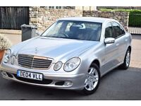 MERCEDES E220 CDI AUTO 2.2 DIESEL,PSH,1 FORMER KEEPER,NEW MOT,CRUISE,DUAL CLIMATE,AUTO LIGHTS&WIPERS