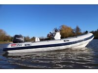 *SOLD* Valiant 450 Deluxe 4.5M 7Man rigid inflatable RIB 50hp *SOLD* 4.2M EFI + 5.2M coming soon