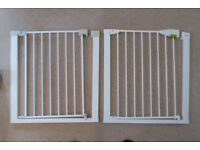 PAIR OF CHILD SAFETY STAIR GATES - EXCELLENT CONDITION