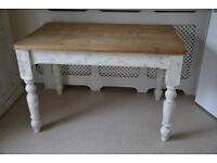 Pine Painted Farmhouse Kitchen Dining Table