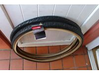 Mountain Bike Tyres 26 x 1.9 Fast Tread Pattern For Road and Cycle Track Pair of New Tyres £20
