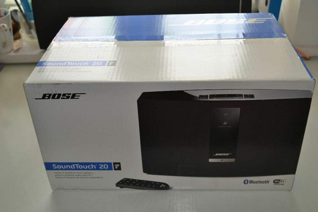 bose 20 soundtouch. brand new in sealed box bose soundtouch® 20 series iii wireless music system black soundtouch u
