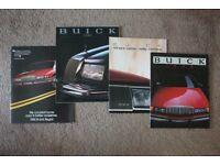 MINT Collection 1988/9 USA/American Car Brochures (Cadillac/Corvette/Buick/Lincoln/Mercury/Chrysler