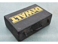 Vintage Metal Dewalt Drill Tool Case - RARE