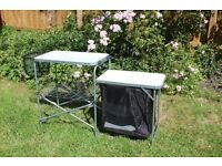 Camping folding table / kitchen