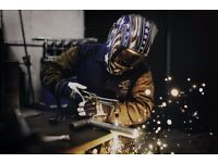 Welding lessons required