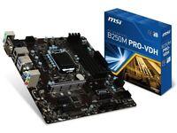 MSI Kaby Lake Intel B250 DDR4 Micro ATX Motherboard (911-7A70-003 PRO VDH)