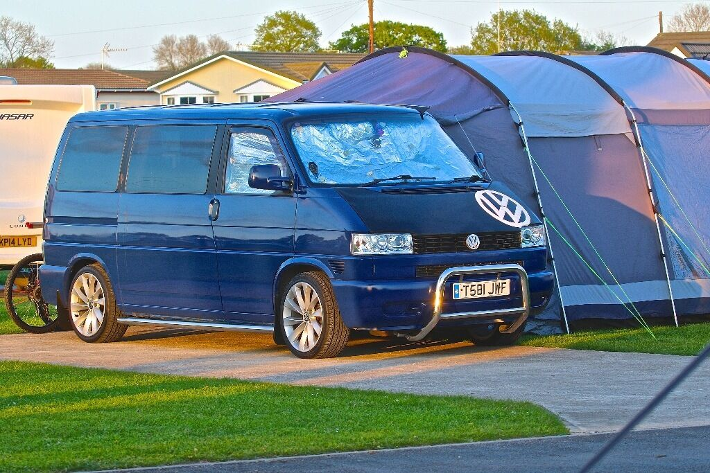 volkswagen t4 dayvan campervan awning bike rack loads. Black Bedroom Furniture Sets. Home Design Ideas