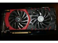 MSI GeForce GTX 980 GAMING 4G Graphics