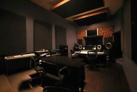 Professional music studios with or without live room - all bills included - Canning Town