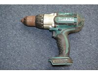 Makita-BHP451 18V, LXT Lithium-Ion Hammer Driver Drill BODY ONLY.