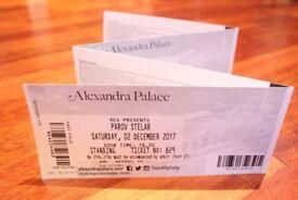 4x Parov Stelar tickets - Alexandra Palace - Saturday 2nd Dec 17 (FACE VALUE = £140)