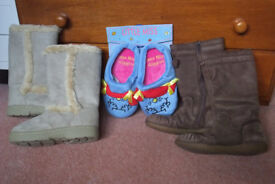 Children's boots and slippers