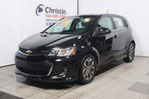2017 CHEVROLET SONIC LT TURBO RS SPORT SUNROOF