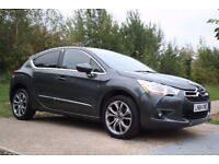2014 Citroen DS4 2.0 HDi DStyle FULL SERVICE HISTORY, LOW MILEAGE, HUGE SPEC, WARRANTY, PX WELCOME