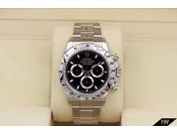 Rolex Daytona Black Dial - Chronograph SW7750
