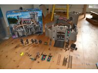 Playmobil Castle 4866 with box and instructions, some pieces missing