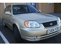Hyundai Accent 2004 1.3 CDX- 6 months MOT-52000 mils genuine,2 owners -great value