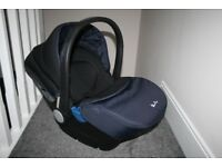 Silver Cross Simplicity baby car seat Vintage Blue / black CAN POST