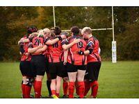 Ladies rugby team essington ladiea