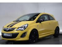 VAUXHALL CORSA 1.2 LIMITED EDITION 3d 83 BHP (yellow) 2014