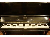 Steinway upright piano, overstrung vertegrand. Tuned and UK delivery FREE*