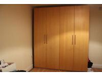 2x Spacious, big in good condition wardrobe shelves