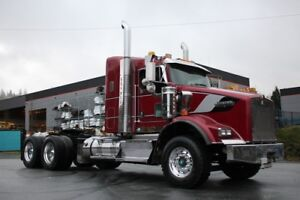 2014 Kenworth T800 Day Cab with VIT 38in Sleeper T800 Daycab