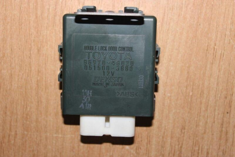 2004 3.0 LEXUS RX-300 DOUBLE LOCK DOOR CONTROL RELAY MODULE 85970-48020