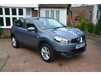 2010 Nissan Qashqai 1.5dci Acenta Puredrive, FSH, MOT to July 18, 71k miles, 1 previous owner